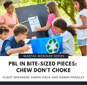 Webinar: PBL in Bite-sized Pieces